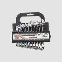 Sada kombinovaných klíču 10-19mm, 10ks, leštěné