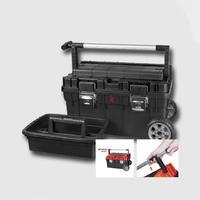 Box plastový s kolečky TROPHY 1 black 595X345X355 mm