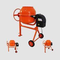 Míchačka stavební HCM550 160l, 650W rozložená