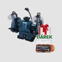 Stolní bruska s lampou 200x25x16mm 520W + dárek ST38023