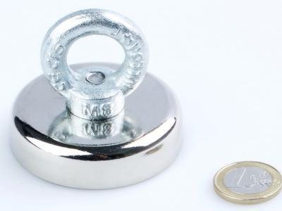 Magnet neodymový pro lovce pokladů 60 mm / 135 kg