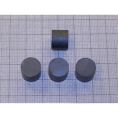 Magnet feritový  12x 10mm