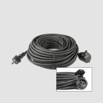 Prodlužovací kabel guma 1 zás.230V/10m