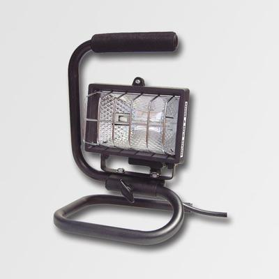 Reflektor 500W černý s držákem