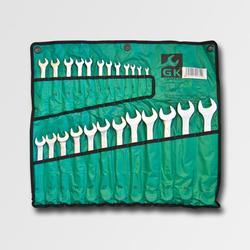 Sada klíčů o.p. 6-32 mm 24 dílů matný chrom-obal