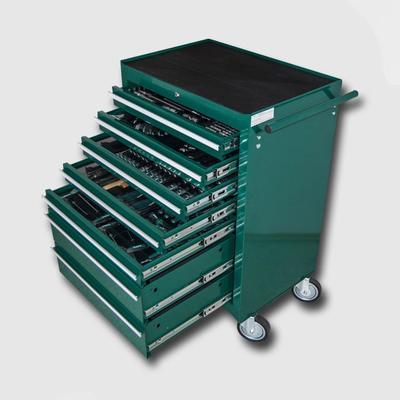 Montážní vozík na nářadí kovový vybavený 231 dílů  680x458x860mm