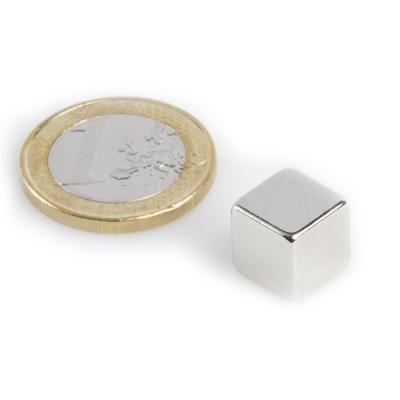 Magnet neodymový KS 10x 10x 10mm - 1