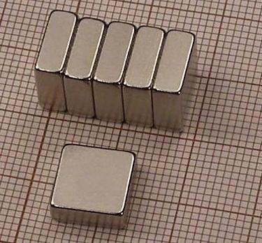 Magnet neodymový  KV 10x 10x 4mm
