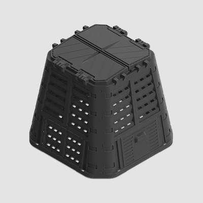 Kompostér černý MULTI 420L