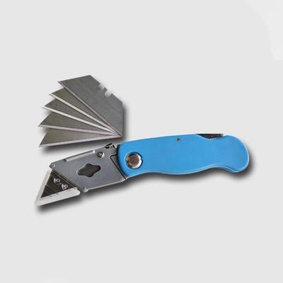 Nůž zavírací s výměnným čepelemi+ 5 ks čepelí