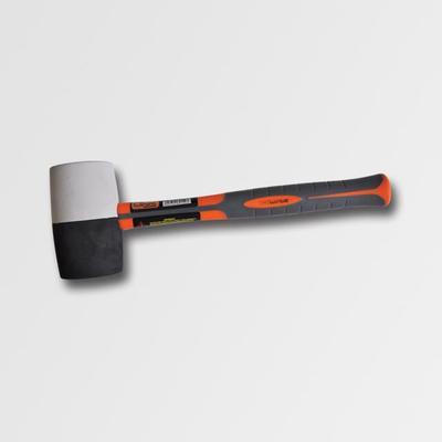 Palička gum. bílá/černá sklolam. 60mm (PC2522)