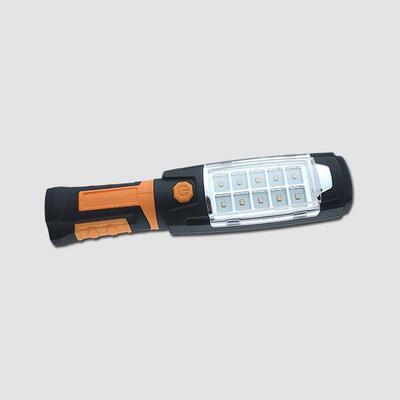 Svítilna pracovní 10COB-LED 3W + 6 LED otočná 360° aku článek 2000mAh