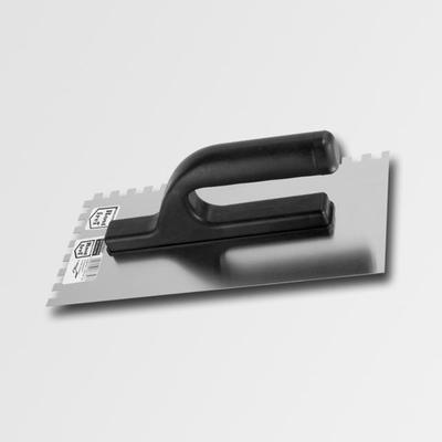 Hladítko zuby 270x127mm 4-nerez
