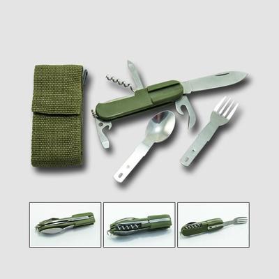 Nůž campingový osmidílný
