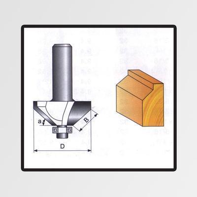Tvarové frézy do dřeva 8x9,52mm