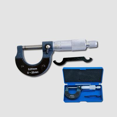 Mikrometr 0.01mm 0-25mm