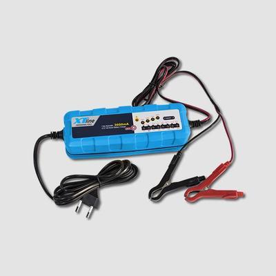 Nabíječka autobaterii napětí 6V/12V 3.6Amp
