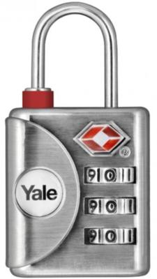 Zámek visací na zavazadla YALE TSA YTP1/32/119/1 - 1