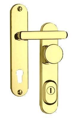 Bezpečnostní kování ROSTEX R1/O / 90 Titan zlatá - 1
