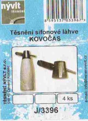 Sada těsnění pro sifonové láhve SANDRIK, ROSTEX, TONER - 2