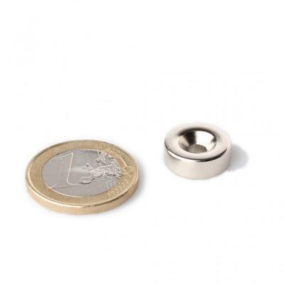 Magnet neodymový  KR 14x 8/4 x3mm - 2