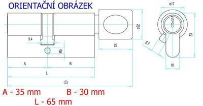 Vložka FAB 202RSD K29/35 - 2
