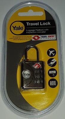 Zámek visací na zavazadla YALE TSA YTP1/32/119/1 - 2