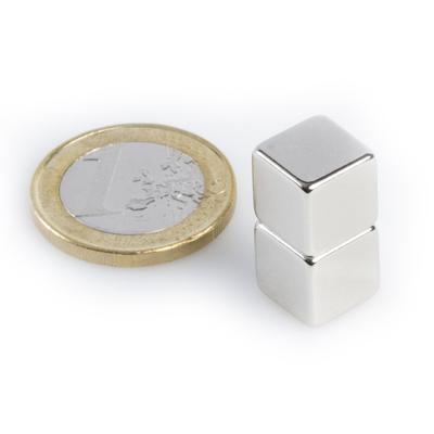 Magnet neodymový KS 10x 10x 10mm - 3