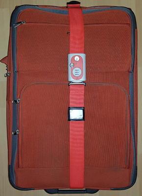 Zámek visací - popruh na zavazadla YALE TSA YTL1/62/4/1 - 3