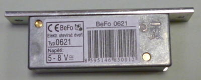 Zámek elektrický BeFo 0621 - 3