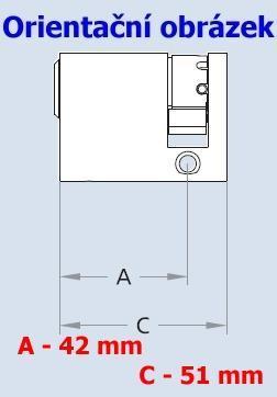 Vložka EVVA ICS EHZ + 42 ( polovložka ) - 4
