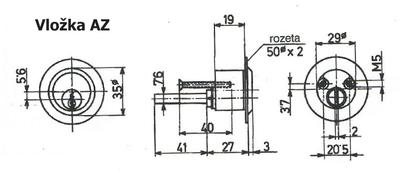 Vložka G550 AZ - 5