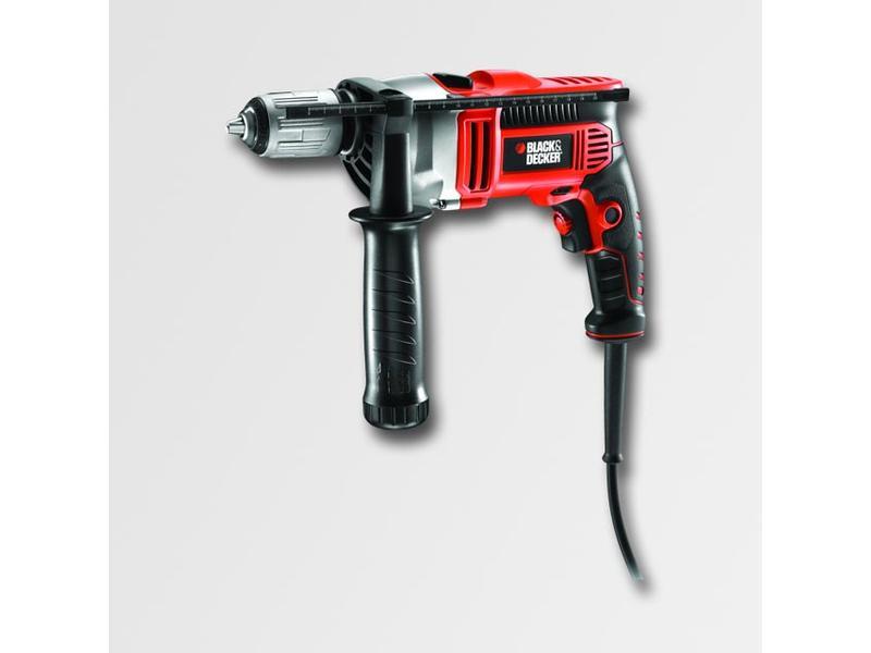 Black & Decker Elektrická příklepová vrtačka 800W,kufr