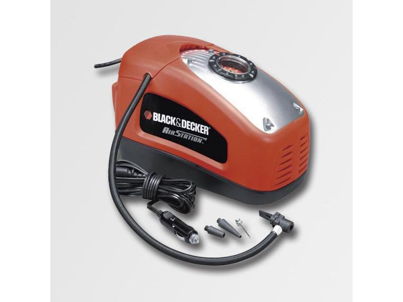 Black & Decker Kompresor 230V / 12V, 90W