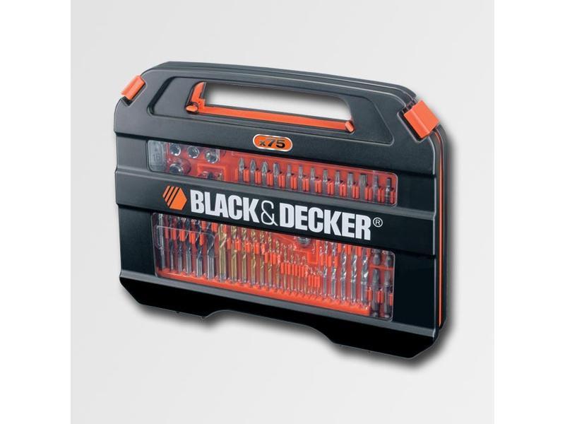 Black & Decker Sada příslušenství 75 dílů