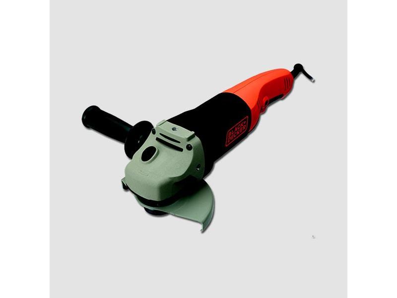 Black & Decker Úhlová bruska 1200W 125mm, NVR vypínač, pozvolný rozběh