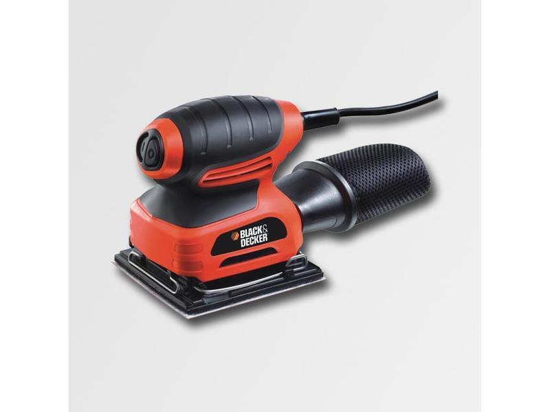 Black & Decker Vibrační bruska 220W, 114x114mm