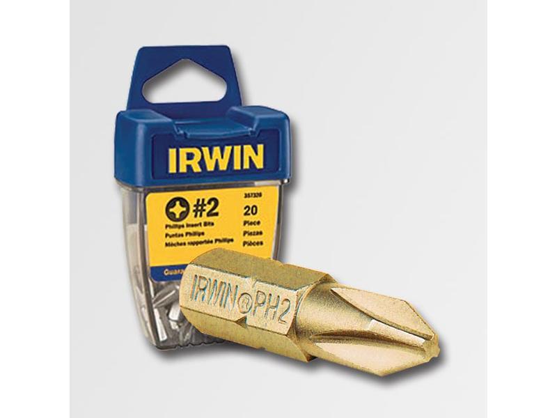 """IRWIN Bit 1/4"""" / 25 mm, Philips Ph2 TIN"""