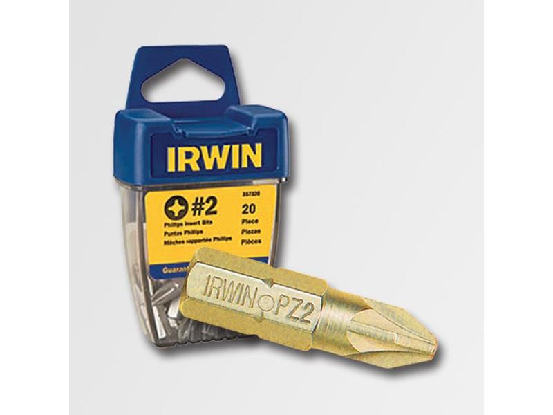 """IRWIN Bit 1/4"""" / 25 mm, Pozidriv Pz1 TIN"""