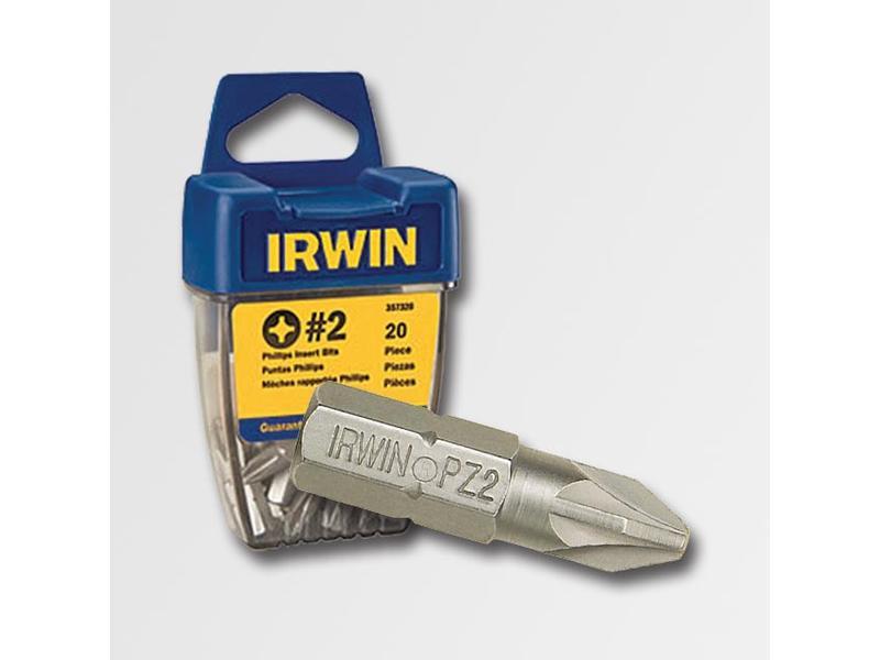 """IRWIN Bit 1/4"""" / 25 mm, Pozidriv Pz2"""