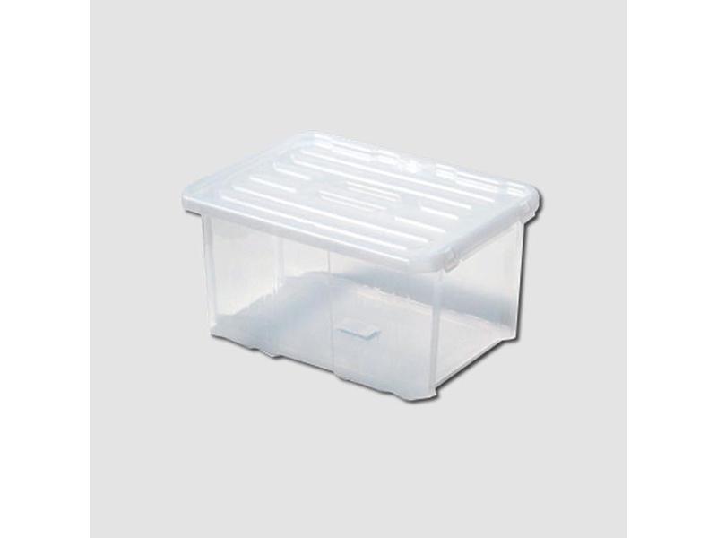 Ostatní Box plastový s víkem 600x400x265mm Cargobox