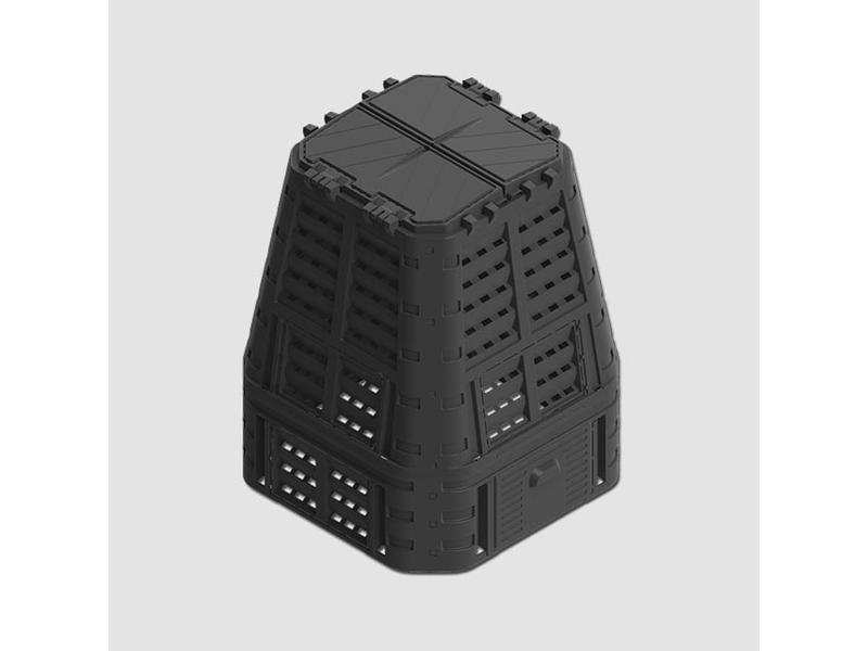 Ostatní Kompostér černý MULTI 650L