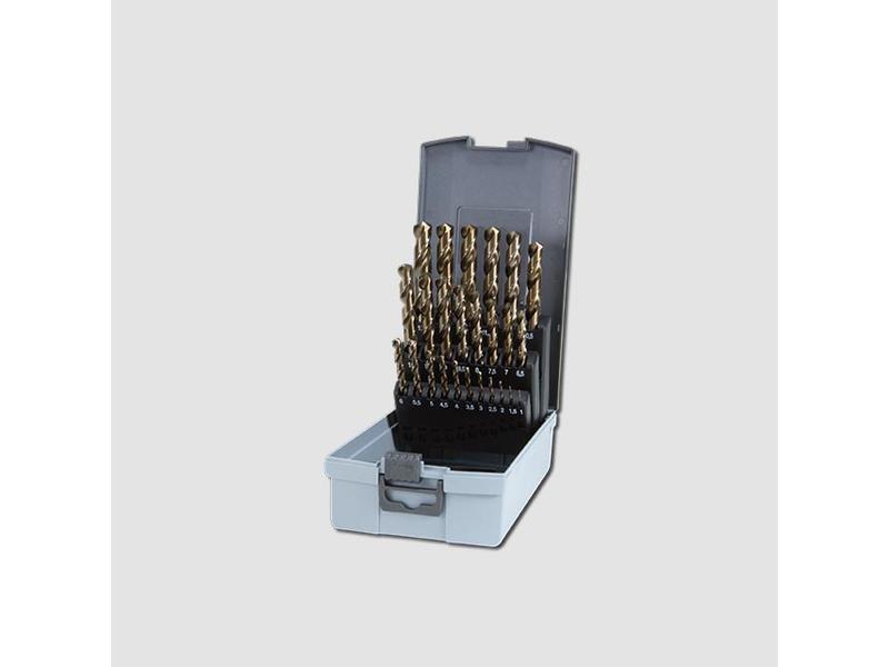 RUKO Sada vrtáků do kovu HSS-G CO 25dílů plastový box