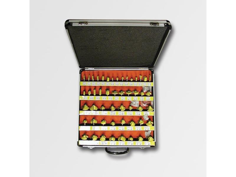 STAVTOOL Sada tvarových fréz 50dílů AL kufr