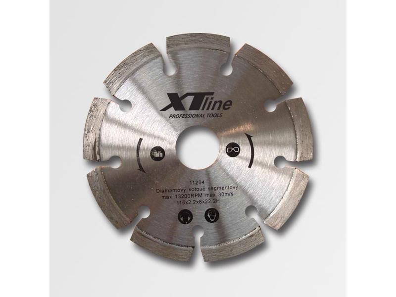 XTline Kotouč diamantový segmentový laser 180x2,4x22,2 DOPRODEJ