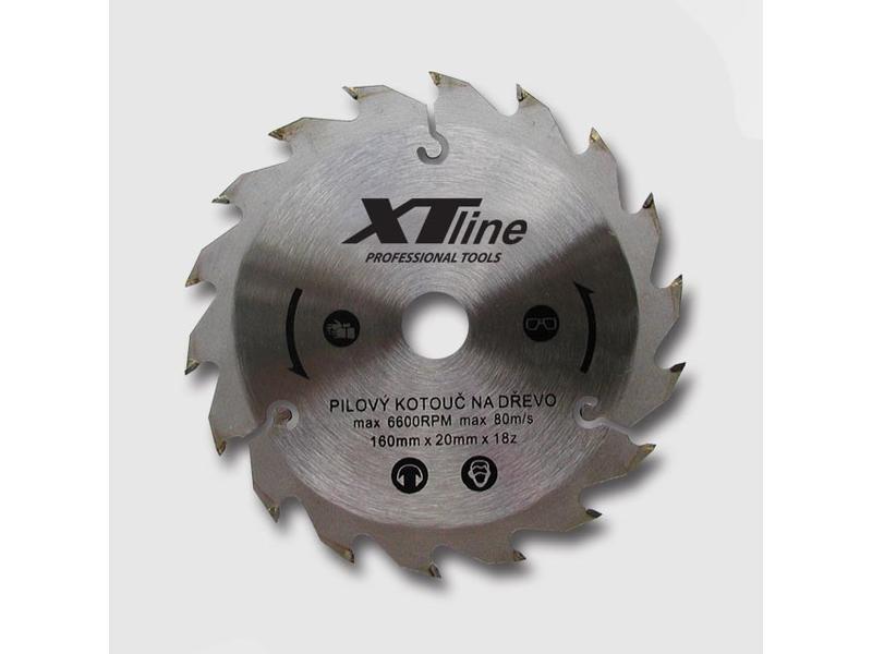 XTline Kotouč pilový profi 160x20/18 zubů