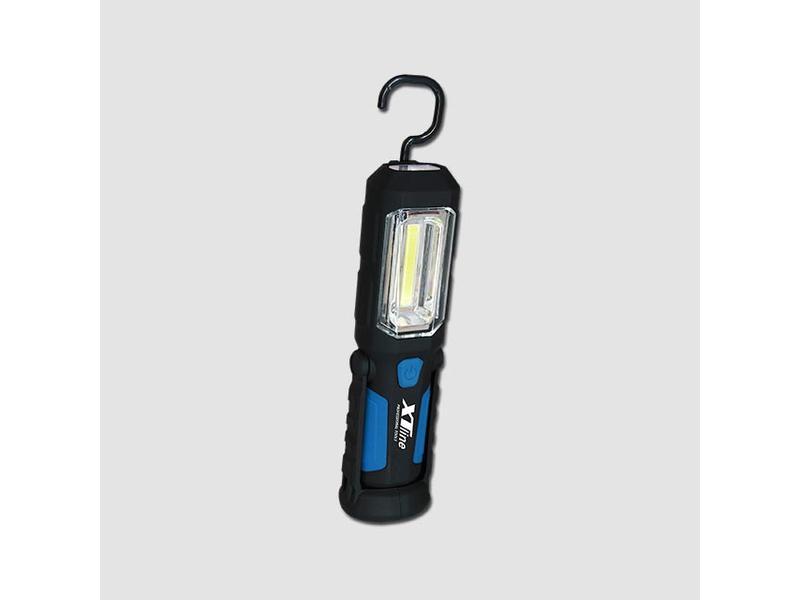 XTline Svítilna montážní nabíjecí LED COB 2W + 1 x LED 1W