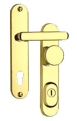 Rostex Bezpečnostní kování ROSTEX R1 / 72 Titan Zlatá